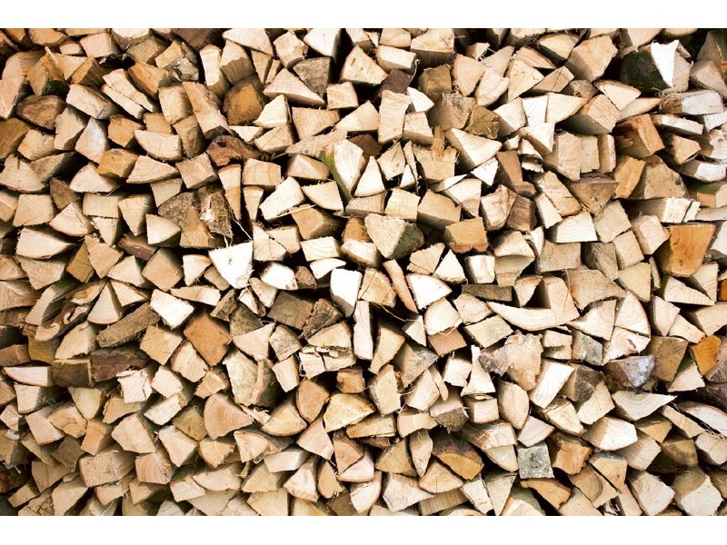 FOTOTAPET EASY UP TIMBER LOGS