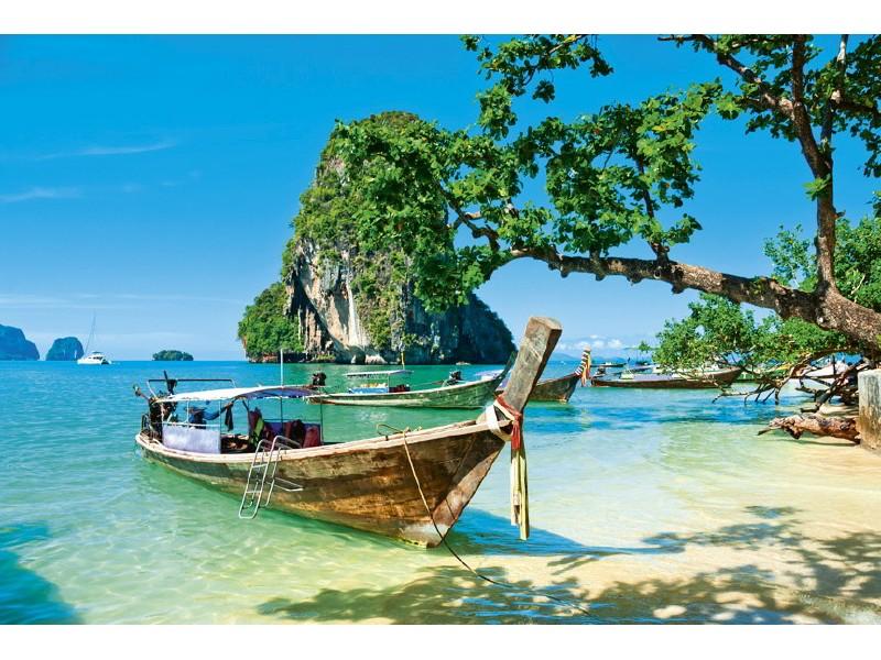 FOTOTAPET EASY UP THAILAND BOAT