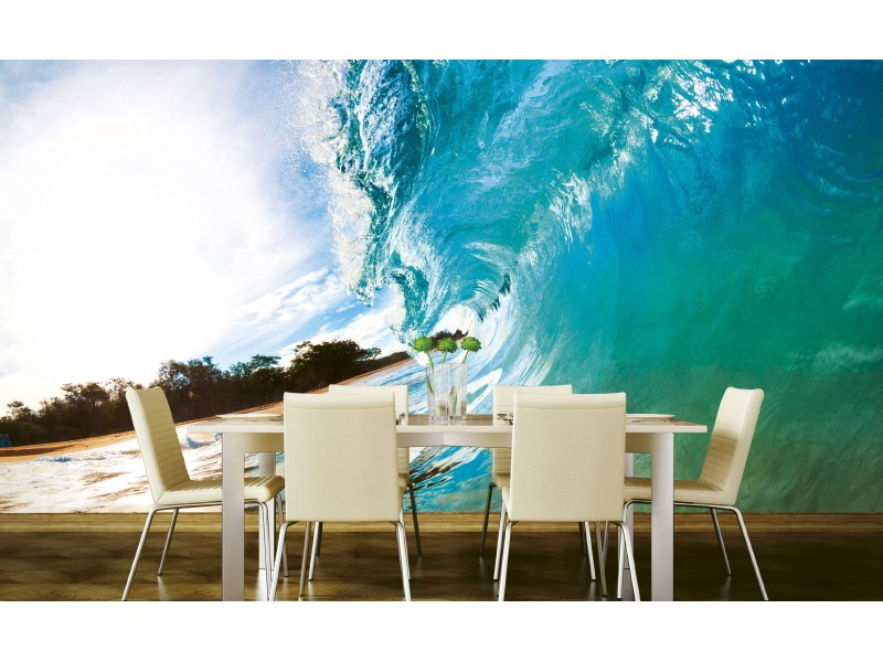 FOTOTAPET EASY UP OCEAN WAVE