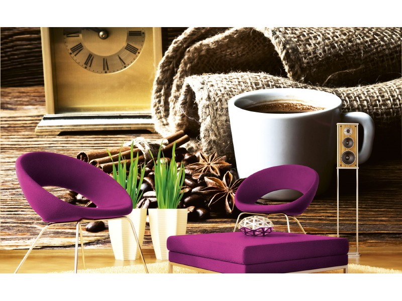 FOTOTAPET EASY UP CUP OF COFFEE