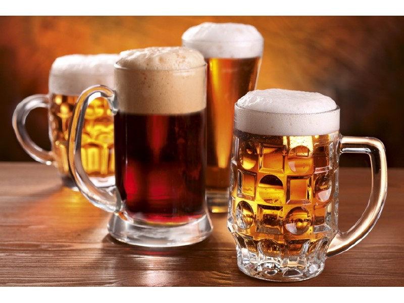 FOTOTAPET EASY UP BEER MUGS