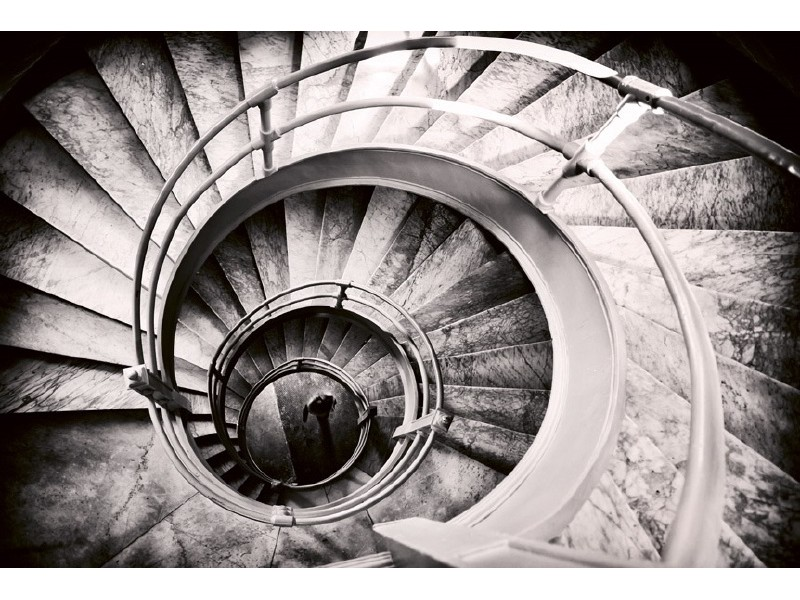 FOTOTAPET EASY UP SPIRAL STAIRS