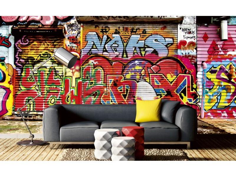 FOTOTAPET EASY UP GRAFFITI STREET