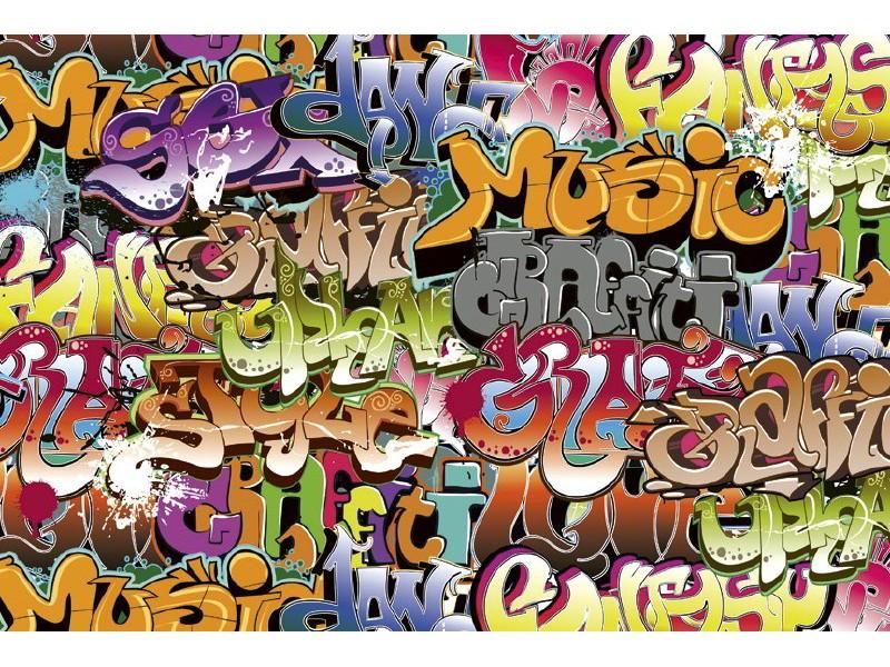FOTOTAPET EASY UP GRAFFITI ART