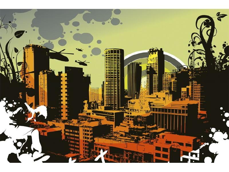FOTOTAPET EASY UP CITY