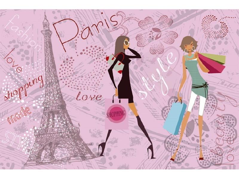 FOTOTAPET EASY UP PARIS STYLE