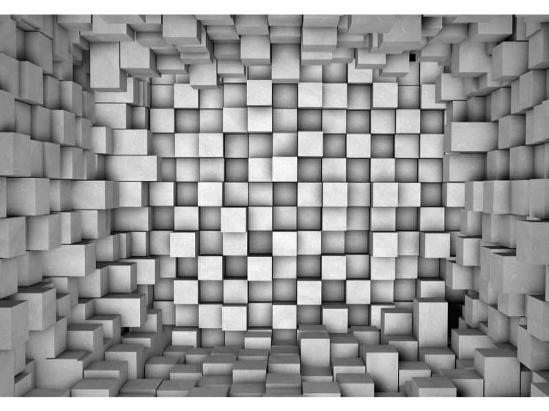 FOTOTAPET 3D REKTANGLAR
