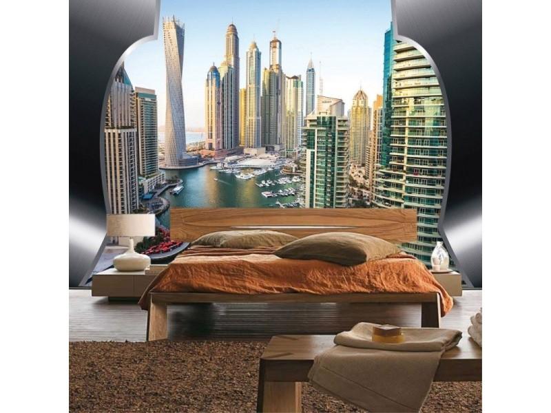 FOTOTAPET DUBAI HORISONTER