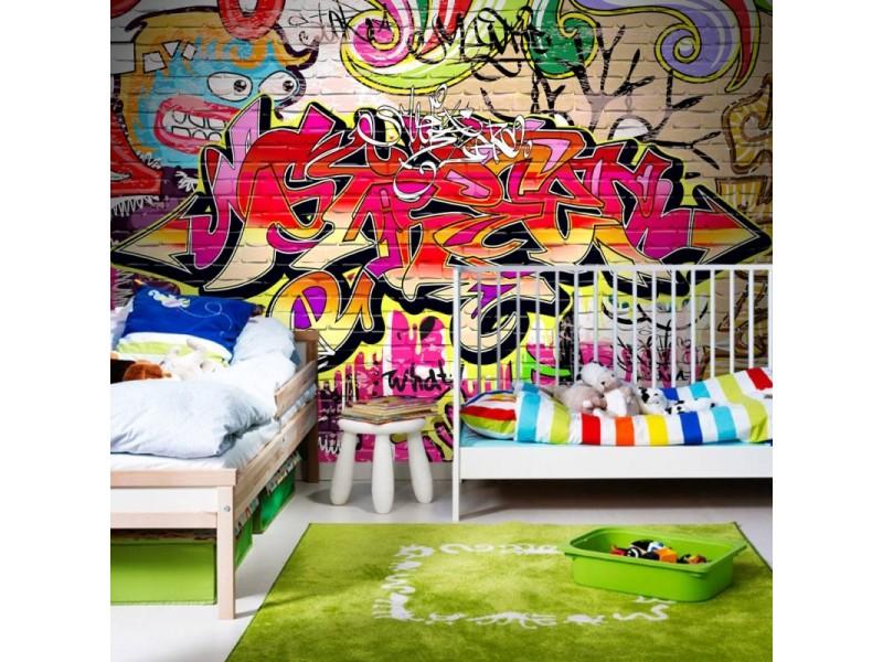 FOTOTAPET GRAFFITI GATUKONST