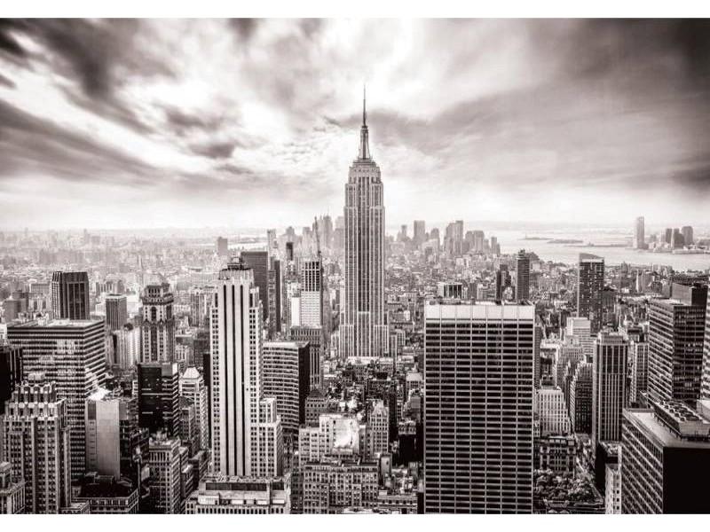 FOTOTAPET NEW YORKS HORISONTER