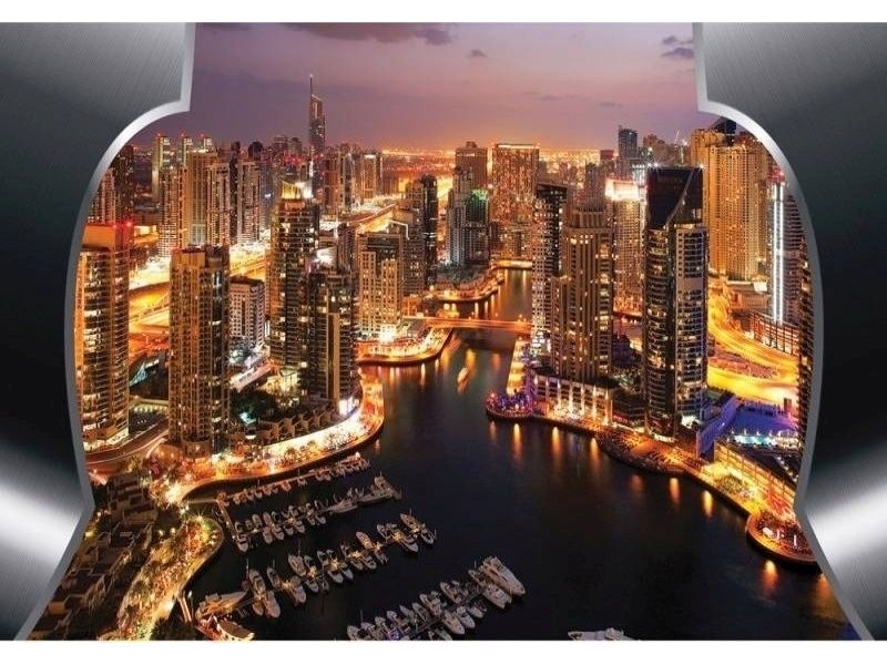 FOTOTAPET SOLUPPGÅNG I DUBAI