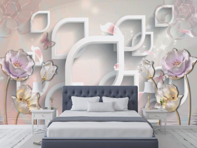 Fototapet 3d abstrakt bakgrund