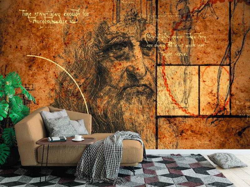 Fototapet Code da Vinci