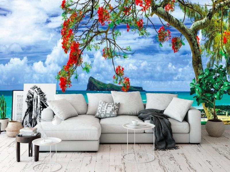 Fototapet Mauritius ö