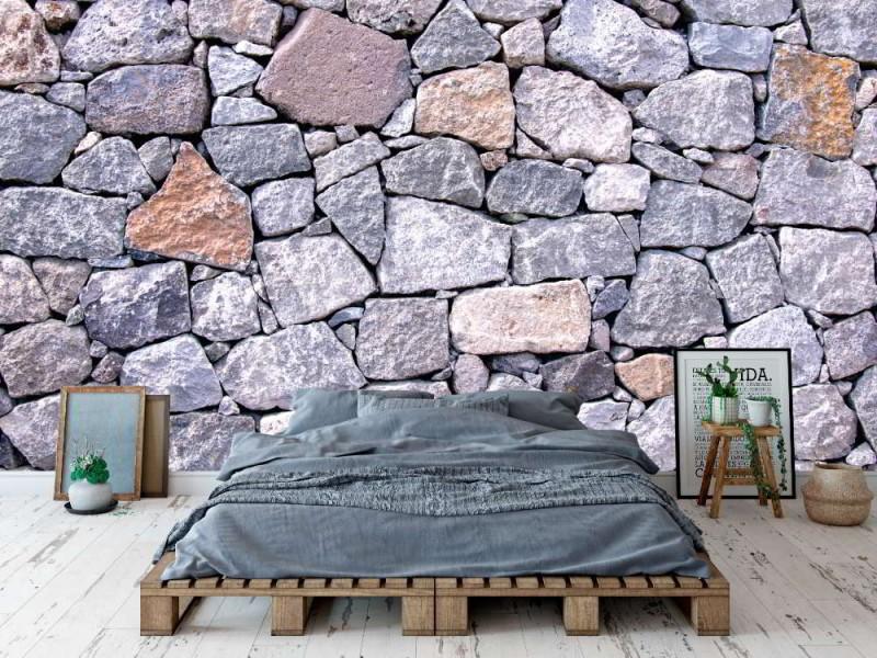 Fototapet natur stenmur