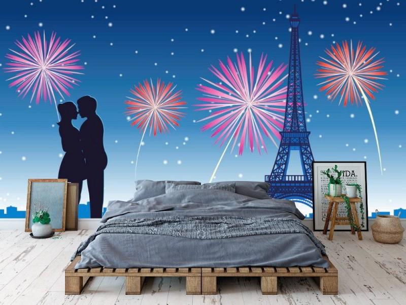 Fototapet kram i Paris