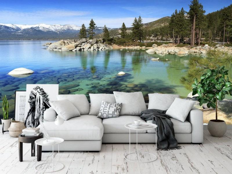 Fototapet Lake Tahoe