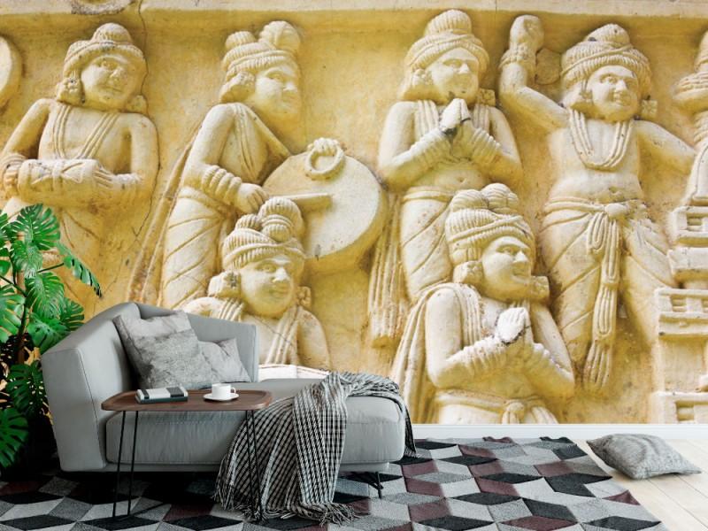 Fototapet nativ thai kunstguggning (14180481)