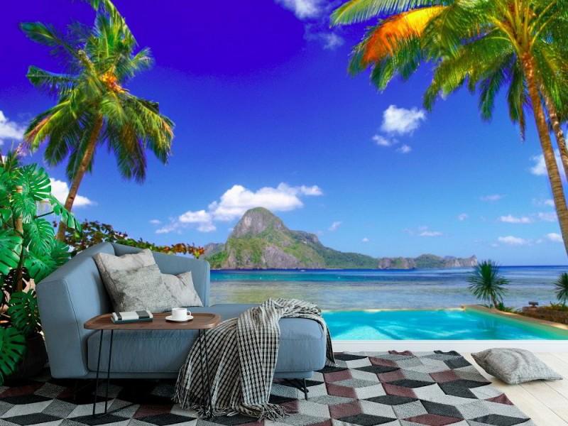 Fototapet tropisk semester