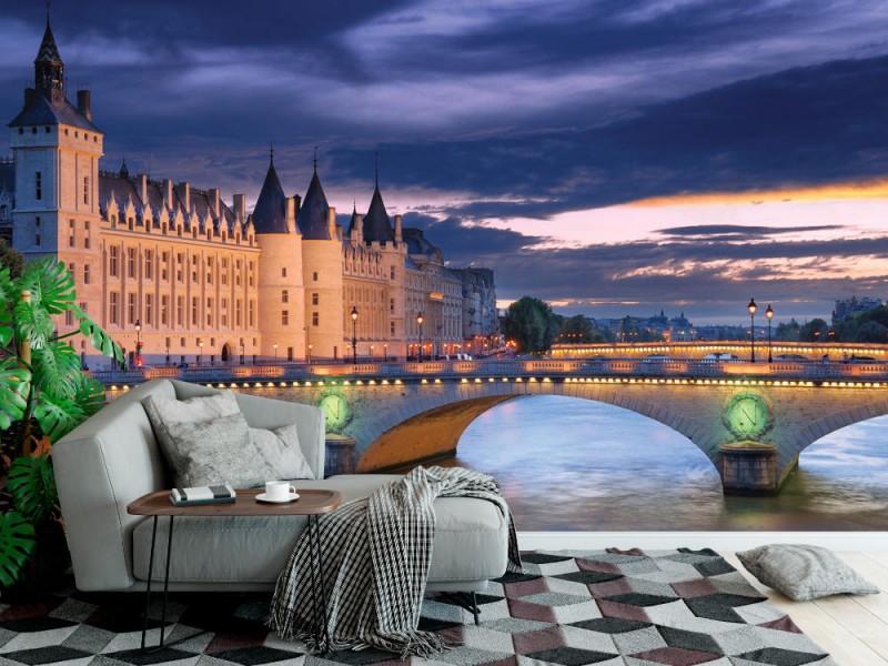 Fototapet av conciergeslottet i paris (15136976)