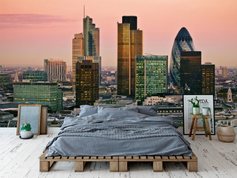 Fototapet City Of London