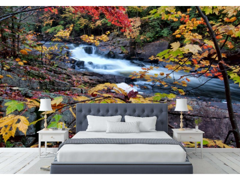 Fototapet Autumn River