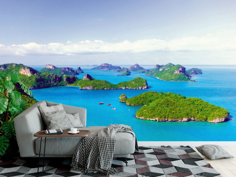 Fototapet Ang Thong nationell marinpark (Thailand)
