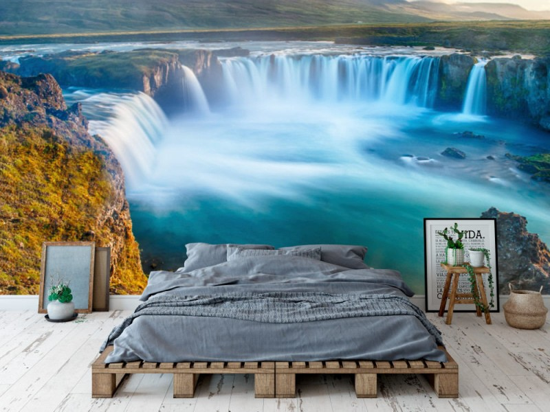 Fototapet Godafoss Waterfall