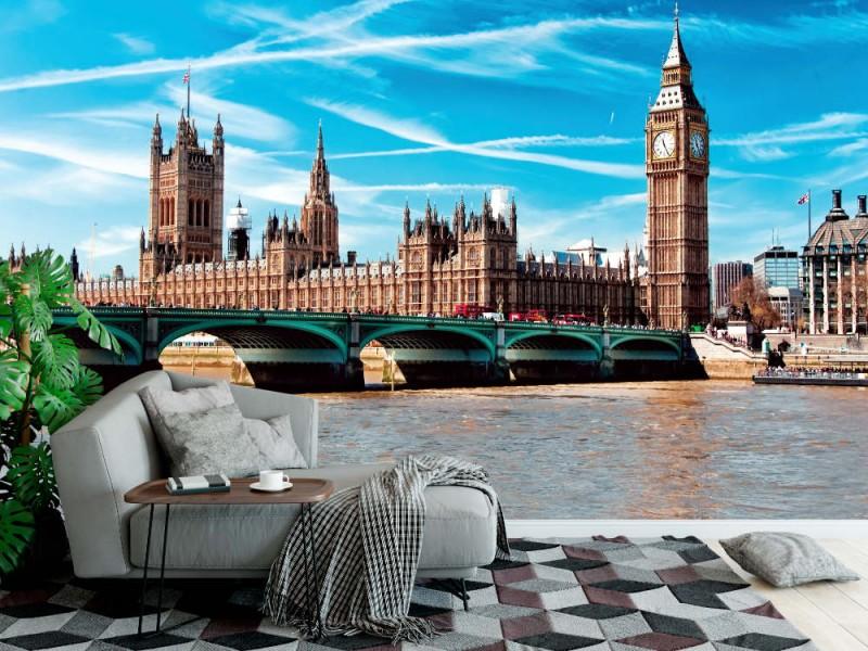 Fototapeten parlament i London (25110411)