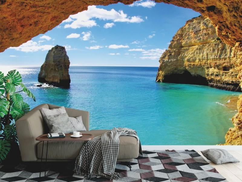 Fototapet Algarve kust