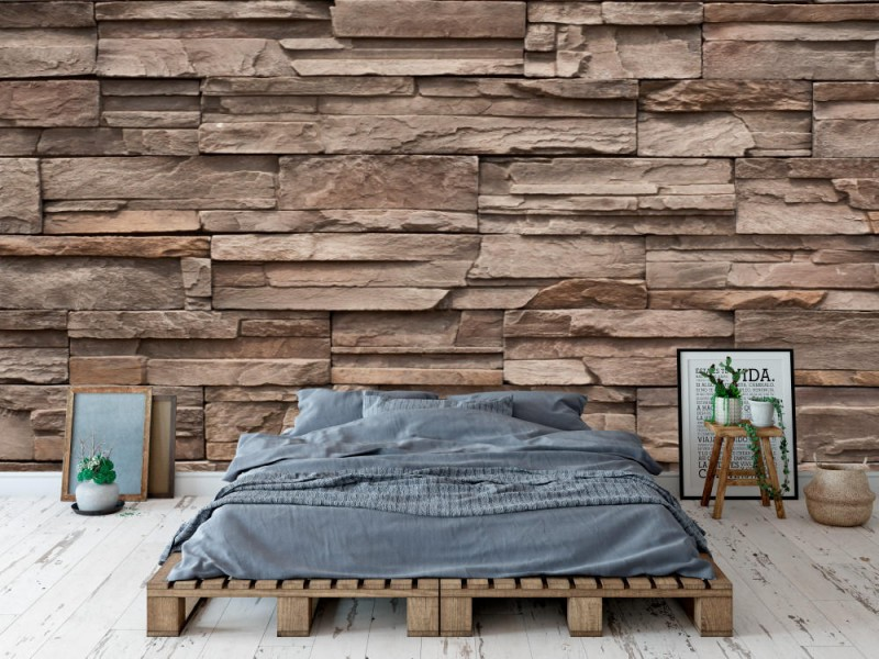 Fototapet Modern Brick Wall