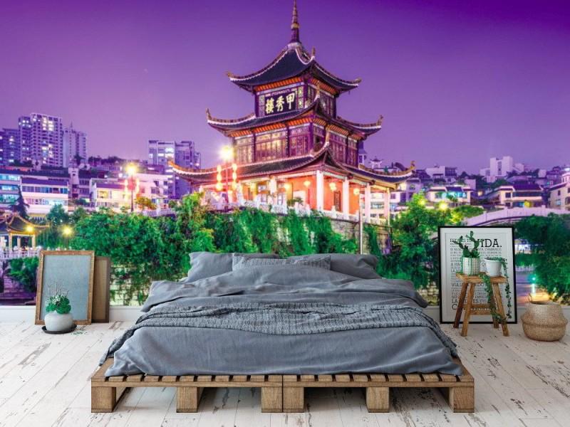 Fototapet Jiaxiu paviljong i Guiyang