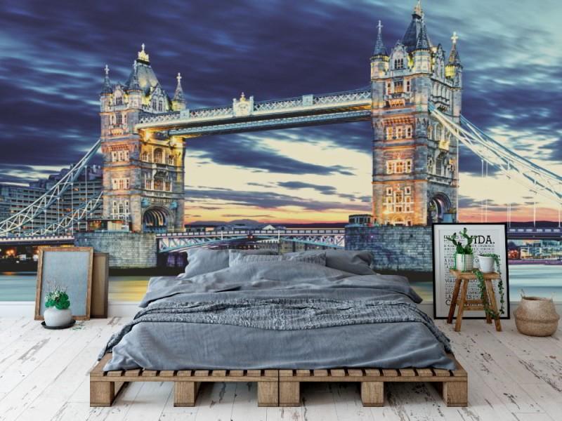 Fototapet Tower Bridge i London (36904582)