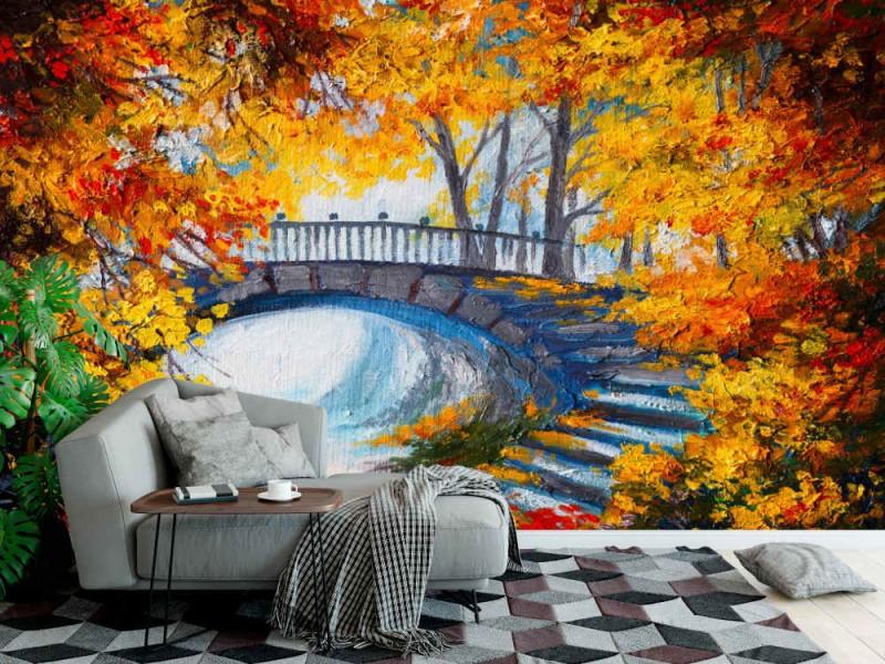 Fototapet Autumn Forest