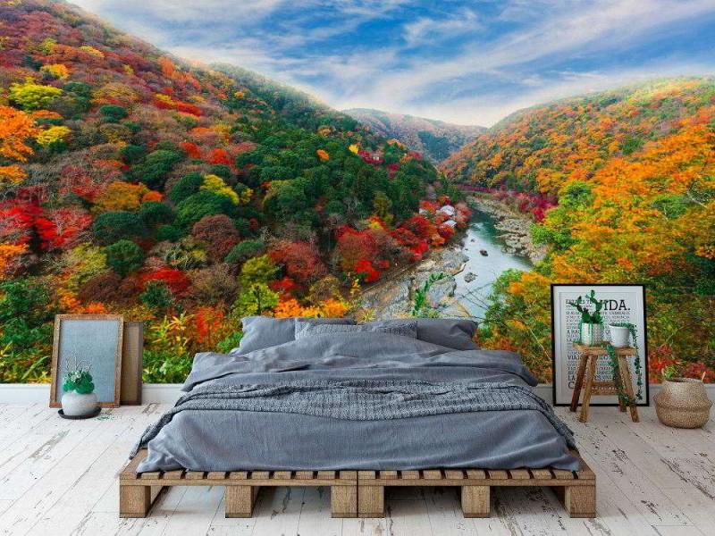 Fototapet Beautiful Valley