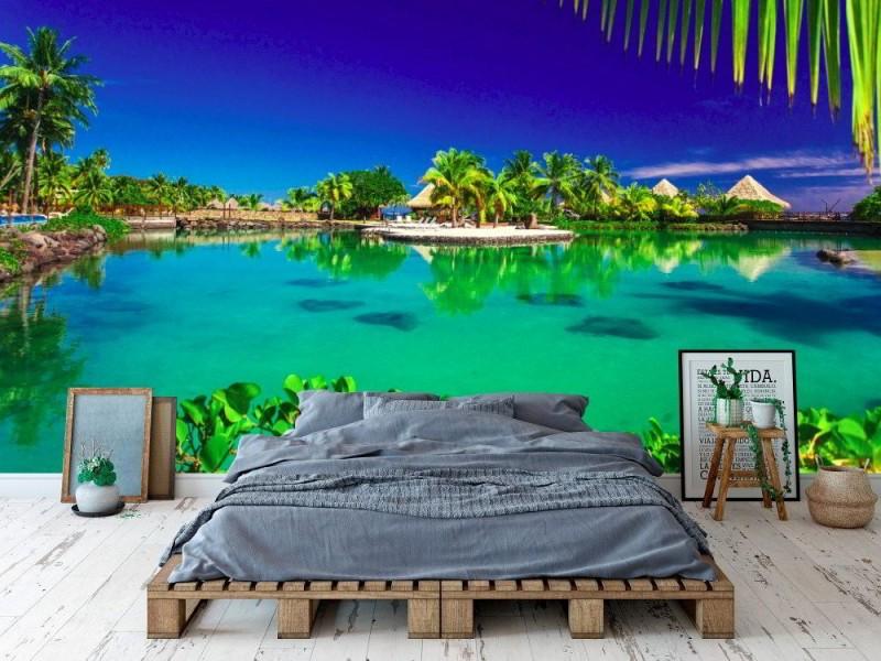 Fototapet tropisk badort