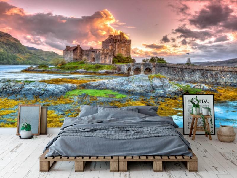 Fototapet Eilean Donan Castle