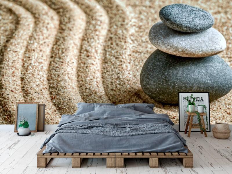 Fototapet japansk zen sten garden (47713477)