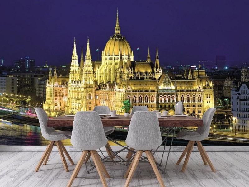 Fototapet ungerska parlamentet