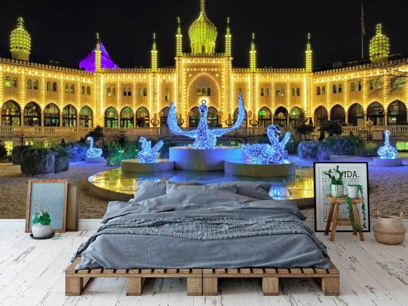 Fototapet Jul i Köpenhamn