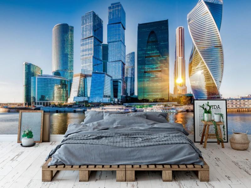 Fototapet Moscow City