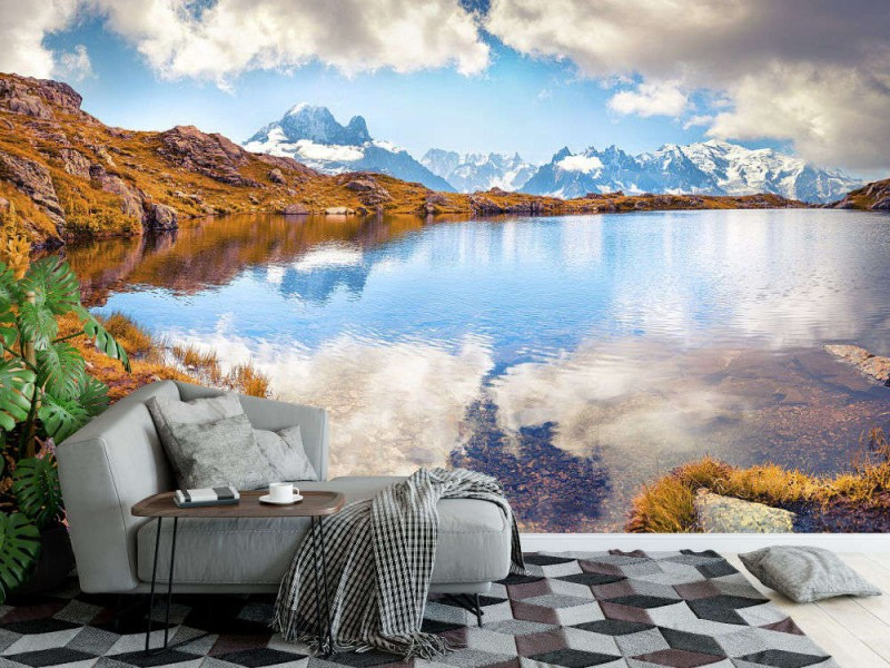 Fototapet Lac Blanc Lake