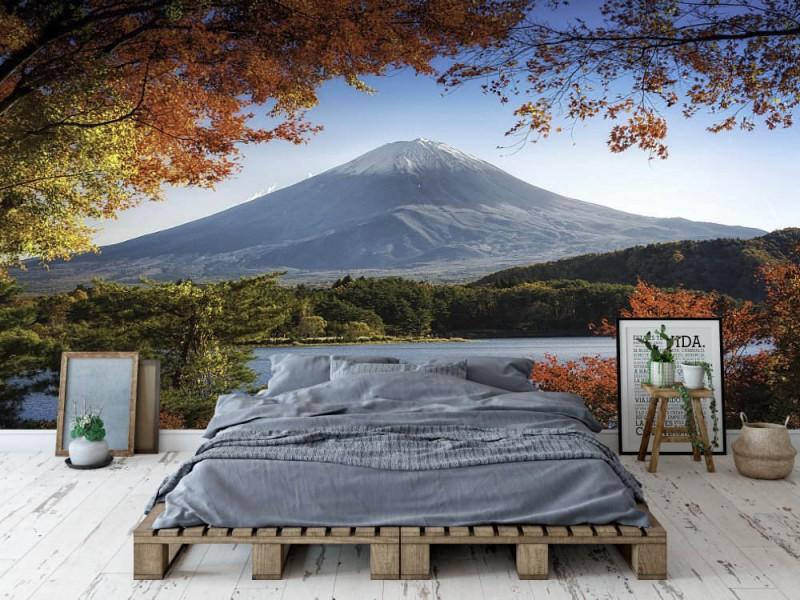 Fototapet Fuji In Autumn