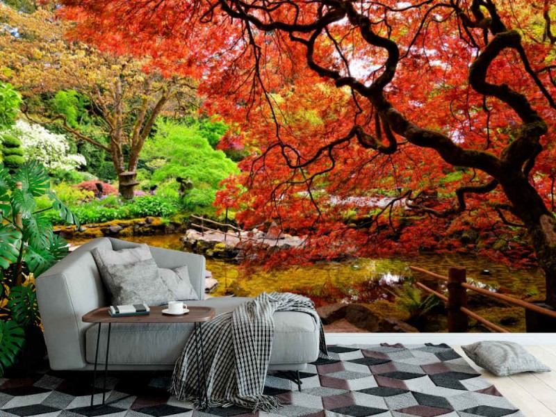 Fototapet Butchart Gardens In Canada