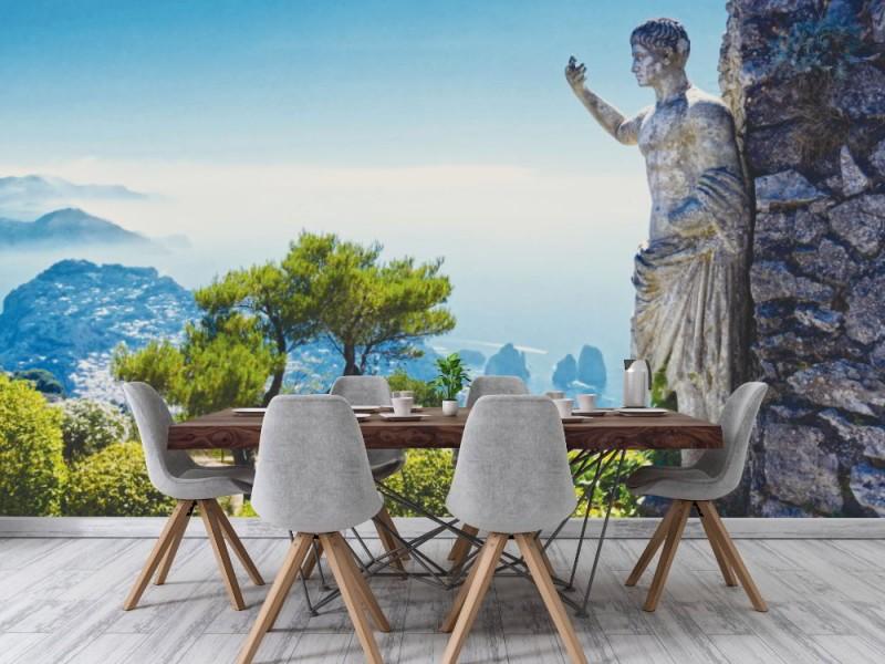 Fototapet Capri ön på sommaren (90529876)