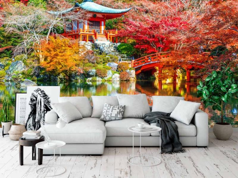 Fototapet Daigoji Temple In Autumn