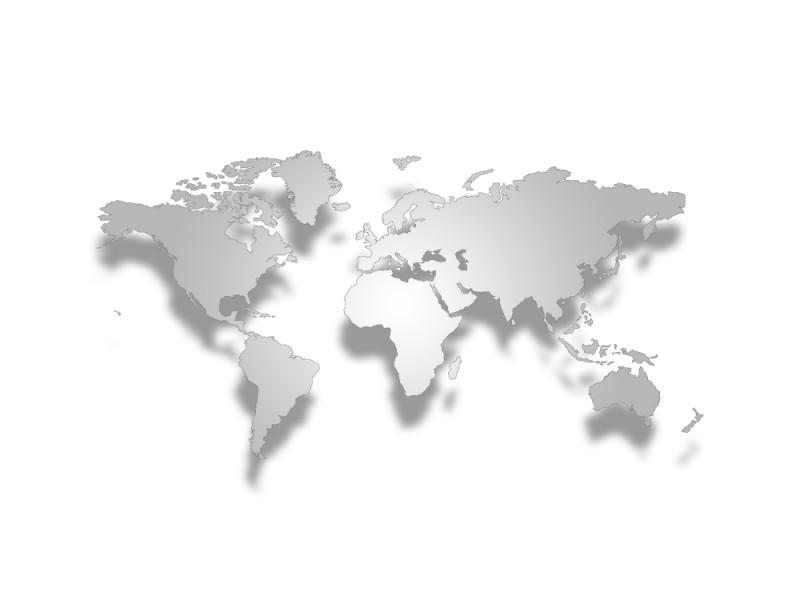 Fototapet 3d stereo världskarta