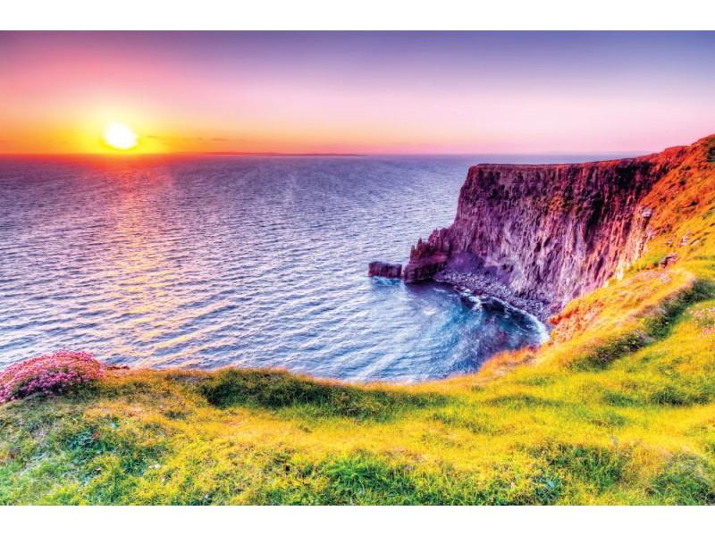 Fototapet klippor av Moher i Irland