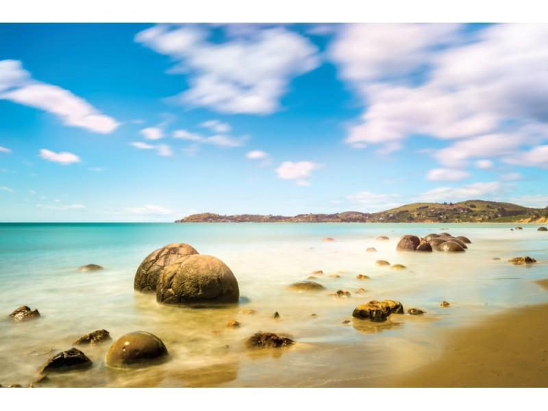 Fototapet Kohekohe strand i Nya Zeeland