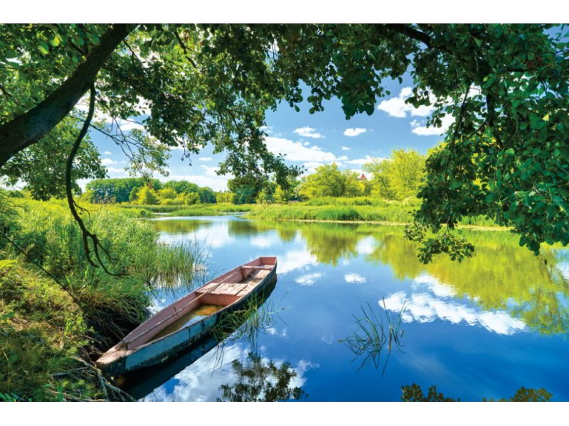 Fototapet Narew floden